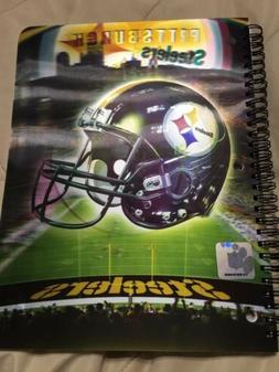 Nfl Pittsburgh Steelers Spiral Notebook. New