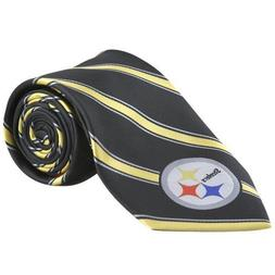 NFL Pittsburgh Steelers Striped Poly Tie