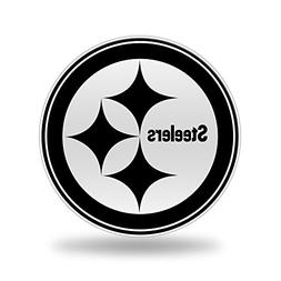 Rico NFL Pittsburgh Steelers Team Color Auto Emblem 3D Stick