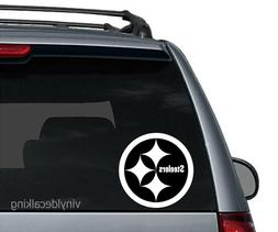 NFL Pittsburgh Steelers Vinyl Decal Sticker Football for Car