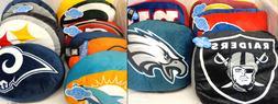 NFL Plush Travel Cloud Pillow Throw