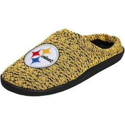 NFL Poly knit Cup Sole Slide Slippers Pittsburgh Steelers NE