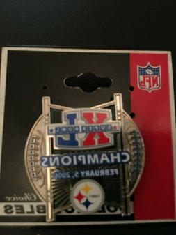 NFL Sports Mem. Souvenirs, Pitts. Steelers, Super Bowl XL  P
