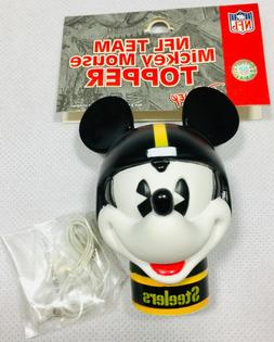 NFL Steelers Mickey Mouse Antenna Topper New in Package Disn