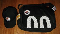 NFL TEAM APPAREL PITTSBURGH STEELERS  BLACK CAP & proFANity