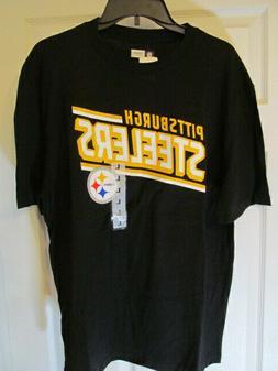 NFL Team Apparel Pittsburgh Steelers Short Sleeve T-Shirt, S