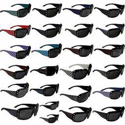 NFL Team Bling Designer Women's Sunglasses with Rhinestones
