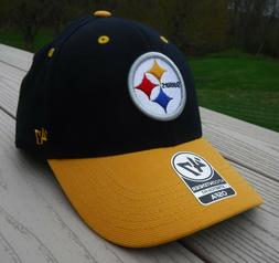 "NWT '47 BRAND Pittsburgh Steelers ""Contender"" Mens Flex Fitt"