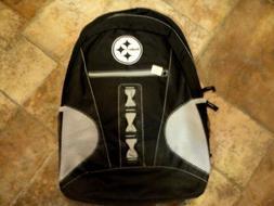 nwt pittsburgh steeler football book bag back