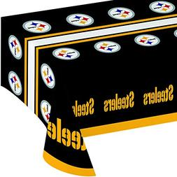 Creative Converting All Over Print Pittsburgh Steelers Plast