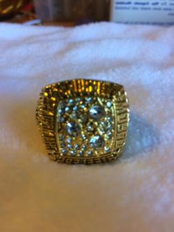 Pittsburg Steelers Superbowl XIII Replica Ring **Terry Brads