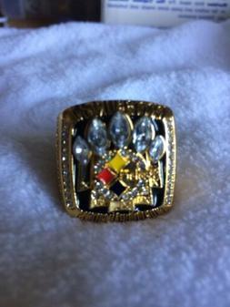 Pittsburg Steelers Superbowl XL Replica Ring **Kelvin Jones*