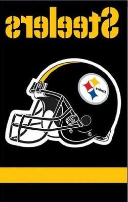 "Pittsburgh Steelers NFL Applique Banner Flag """