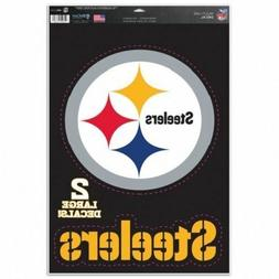 "Pittsburgh Steelers 11"" x 17"" Multi Use Decals - Auto, Walls"