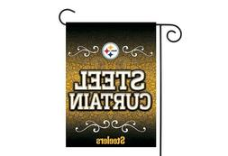 Pittsburgh Steelers 13x18 Premium Stitched 2-Sided Outdoor G