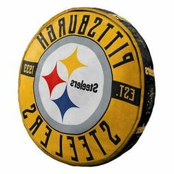 """Pittsburgh Steelers 15"""" Travel Cloud Pillow"""