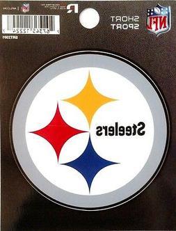 "Pittsburgh Steelers 3"" Flat Vinyl Die Cut Decal Bumper Stick"