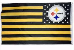 Pittsburgh Steelers 3 x 5 ft banner flag NFL football