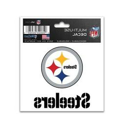 "PITTSBURGH STEELERS 3""X4"" MULTI-USE DECAL PERFECT FOR CAR WI"