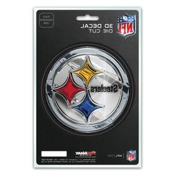 Pittsburgh Steelers 3D Die Cut Decal Emblem Sticker Truck Ca