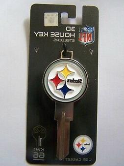 Pittsburgh Steelers 3D Kwikset house key blank  KW1