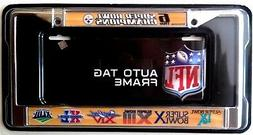 Pittsburgh Steelers 6x Champions Metal Chrome License Plate