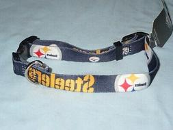 PITTSBURGH STEELERS  Adjustable DOG/PET COLLAR size Medium