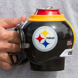 Pittsburgh Steelers All in One Helmet Can & Bottle Cooler, M