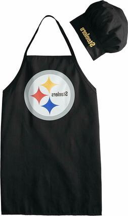 Pittsburgh Steelers Apron and Chef's Hat Set