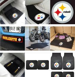 Pittsburgh Steelers Auto & Motorcycle Accessories Car Mats