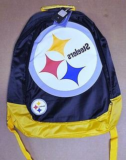 Pittsburgh Steelers BackPack / Back Pack Book Bag NEW - TEAM