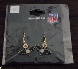 PITTSBURGH STEELERS BAT EARRINGS
