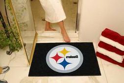 Pittsburgh Steelers Bath Mat Shower Bathroom All Star Area R