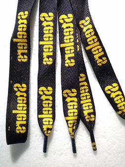 pittsburgh steelers black and gold shoelaces your
