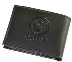 Pittsburgh Steelers Black Hybrid Bi-Fold Wallet