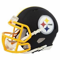 Riddell Pittsburgh Steelers Black Matte Alternate Speed Mini