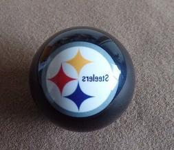NFL Pittsburgh Steelers Black Pool Ball Pool Balls w/ FREE S