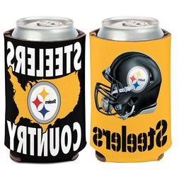 Pittsburgh Steelers Can Cooler 12 oz. Koozie