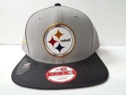 Pittsburgh Steelers New Era Cap 9Fifty Flat Brim Snapback Ha