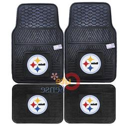 Pittsburgh Steelers Car Floor Mat 4pc Utility Fanmats NFL Au