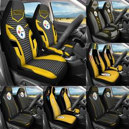 Pittsburgh Steelers Car Seat Covers Pickup Truck Universal S