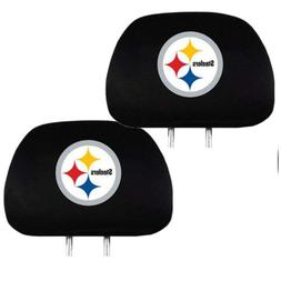 Pittsburgh Steelers Car Truck SUV Van Headrest Covers Automo