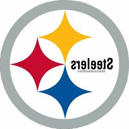 Pittsburgh Steelers Circle Magnet NEW REMOVABLE Car Bumper M