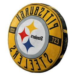 Pittsburgh Steelers Cloud to Go Style Pillow  NFL Travel Nec