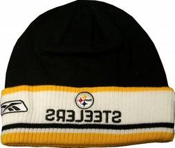 Pittsburgh Steelers Coaches Reebok Knit Hat w/ Cuff