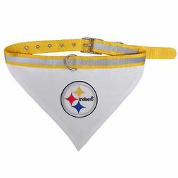 Pets First Pittsburgh Steelers Collar Bandana