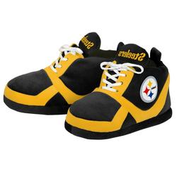 Pittsburgh Steelers Colorblock Slippers - NEW - FREE USA SHI