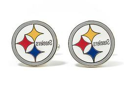 Pittsburgh Steelers Cufflinks NFL Football