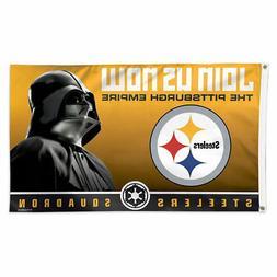 Pittsburgh Steelers Darth Vader Star Wars Large Outdoor Flag