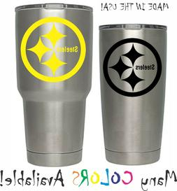Pittsburgh Steelers Football Decal for NFL YETI Tumbler 20 3